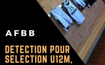 AFBB: Détection pour les équipes de sélections